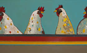 Four Chickens